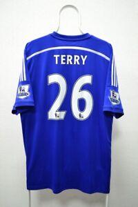 Fc Chelsea 2014-2015 Season Jersey Adidas Shirt Terry #26 XL Size
