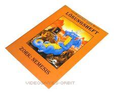 LÖSUNGSHEFT ZORK NEMESIS von Magic Line Hintbooks