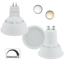 Dimmable 220V LED Spotlight Bulb GU10 MR16 7W White Energy Saving Light Lamps RE