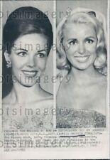 1965 Wire Photo Miss America Finalists 1965