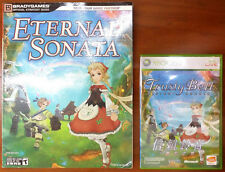 Xbox 360 Game - Trusty Bell Eternal Sonata (English Version) c/w Official Guide