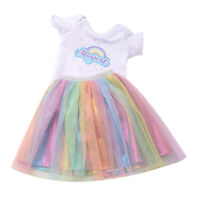Sleeveless Party Dress fits 16inch -18inch Baby Doll Dress up Clothes Accs