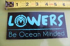 Lowers Trestles Be Ocean Minded Clean Beach Surfboard V7 Vintage Surfing Sticker
