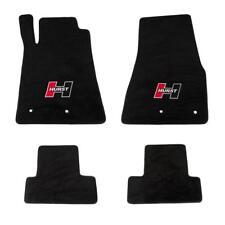Floor Mat Set-Logo Floor Mat Kit Front Rear Hurst fits 10-14 Ford Mustang