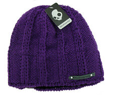 Skullcandy Pearl Speaker Audio Beanie Hat in Purple Brand New