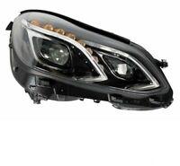 PROIETTORE FARO ANTERIORE DX PER MERCEDES CLASSE E W212 2013 IN POI FULL LED