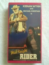 Mid-Knight Rider (New Sealed Vhs) Keenan Wynn, Michael Christian Extremely Rare!