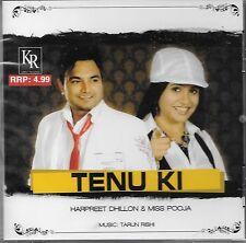 TENU KI - HARPREET DHILLON & MISS POOJA - BRAND NEW BHANGRA CD SONGS