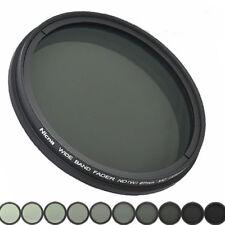 Nicna 52mm ND Fader Graufilter Filter SLIM m52 52-mm