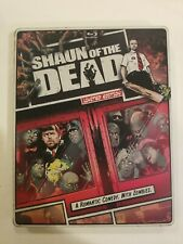 Shaun of the Dead  Steelbook ( Blu-ray/DVD, 2013) Limited Edition COMPLETE