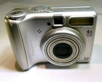 Canon PowerShot A530 5.0MP Digital Camera AS IS Parts or Repair