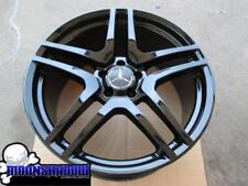1 MERCEDES BENZ CL63 CL65 S63 S65 AMG GLOSS BLACK REAR REPLICA WHEEL RIM 20x9.5