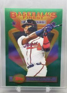 2020 Finest Flashbacks RONALD ACUNA JR. Box Topper #99 (Braves)