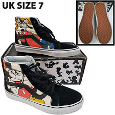 Vans x Disney SK8-Hi Reissue Mickey & Friends Shoes Trainers Womens UK 7 Hi Top