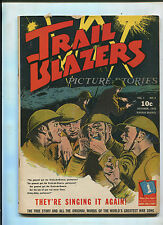 TRAIL BLAZERS #4 (6.0) LIFE STORY OF JACK DEMPSEY AND WRIGHT BROTHERS! COMIC