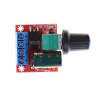 Mini DC Motor PWM Speed Controller 5A 4.5V-35V Speed Control Switch LED Dimmer X
