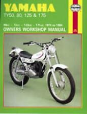 HAYNES OWNERS WORKSHOP SERVICE REPAIR MANUAL BOOK YAMAHA TY50 TY80 TY125 TY175