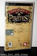 SID MEIER'S PIRATES! GIOCO USATO IN OTTIMO STATO SONY PSP ED. ITALIANA FR1 30937