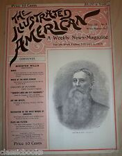 Illustrated American Magazine 1894  Feb 3rd  MUSEUM FILED FN