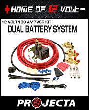 Projecta Voltage sensitive relay FULL KIT 100Amp VSR100K DUAL BATTERY SYSTEM