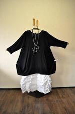 SUPERPOSITION big-ecken-ballonshirt donc raffinée noir taille 5/58,60 /