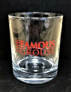 36 x Famous Grouse Tumbler Glasses, 8cms high