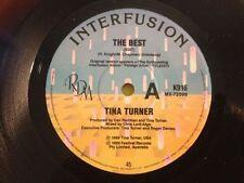 Excellent (EX) Tina Turner Vinyl Music Records