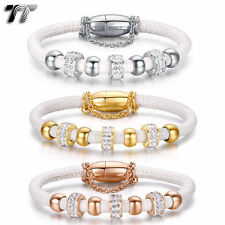 Stainless Steel Stone Fashion Bangles