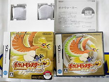 NDS GAME POKEMON HEARTGOLD VERSION WITH POKE WALKER (ORIGINAL USED)
