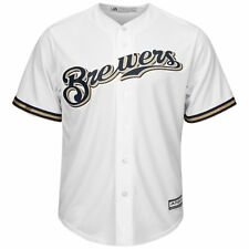 Majestic Authentic Cool Base Jersey - Milwaukee Brewers