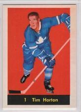 Tim Horton 1961-62 Parkhurst Toronto Maple Leafs REPRINT Hockey Card #1