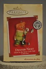 Hallmark - Dexter Next - 3rd in Snow Cub Club Collection - 100 Year Ornament