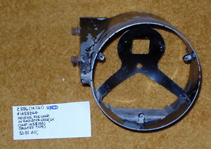 1950-51 Cadillac LH  Fog Lamp Housing (Painted Type) - Very Nice