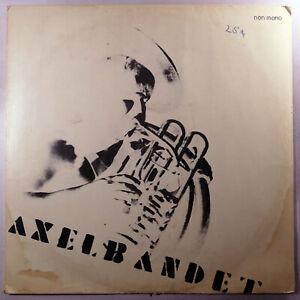 "AXELBANDET Spelar 12"" 33RPM LP Jazz Rare Finland 1977 1st Pressing Deroy 1358"