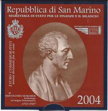 SAN MARINO  2004  Bartolomeo Borghesi  2 €uro commemoratief in Blister  << !!>>