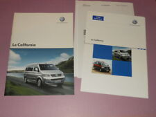VOLKSWAGEN California camping-car brochure catalogue - édition 09/2007 Français