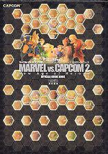 Marvel VS CAPCOM 2 GAME GUIDE BOOK PS2 Xbox