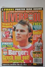 Liverpool The Official Magazine. Volume Four, Issue Ten. Berger: Czech him out!