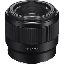 Sony SEL 50mm f/1.8 FE Lenses for Sony - Black