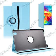 Cover Case Rotary Rotation 360° BLUE Samsung Galaxy Tab 4 8.0 SM-T335 4G LTE