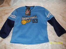 MAD GAME RESPECT Long Sleeve Shirt Boys Size 5 / 6 NWT ALL PRO BASKETBALL 23