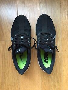 Nike Air Zoom Pegasus 35 Turbo Running Shoes Black AJ4114-001 Men's Sz 10.5 US