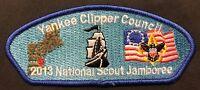 YANKEE CLIPPER COUNCIL BSA 2013 NATIONAL SCOUT JAMBOREE SHIP FLAG CSP