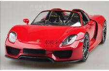 1:18 Minichamps Porsche 918 Spyder Concept Car Red/Yellow