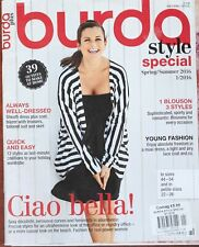 More details for burda style sewing pattern magazine spring summer 2016 special 39 outfits