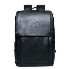 Men's vintage Leather backpack rucksack bag laptop casual travel school bags