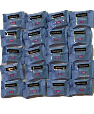 20 Singles Neutrogena Makeup Remover Cleansing Towelettes, Individually Wrapped.