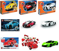 Childrens 5yo+ Airfix Quick Build Cars Starter Model Kits Classic Vehicle Sets