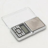 Mini 0.01g x 200g Digital Pocket Scale Jewelry Diamond Weight Balance LCD JU