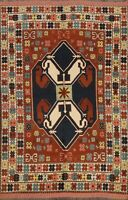 Tribal Geometric Anatolian Turkish Oriental Area Rug Handmade Wool Carpet 6'x8'